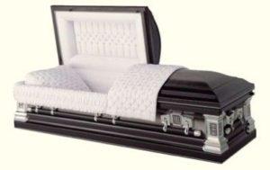 An Open Coffin...