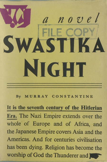 swastika night essays Full glossary for the handmaid's tale essay questions cite this literature note critical essays women in the handmaids tale.